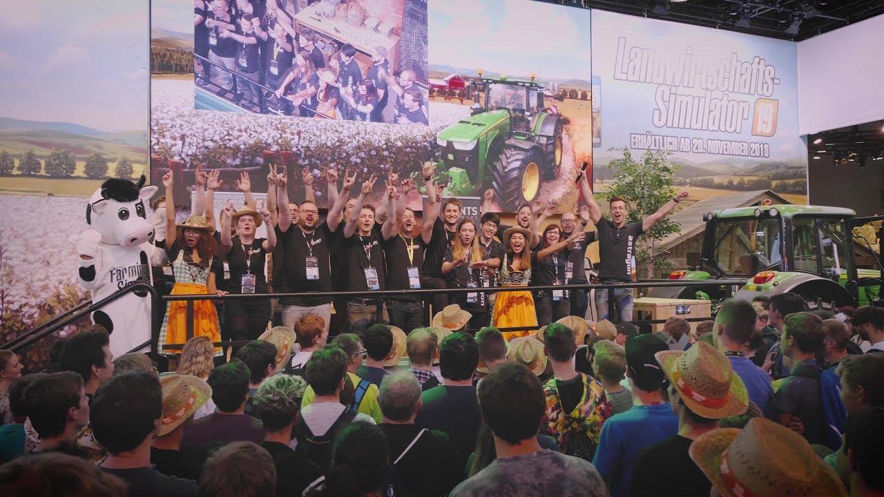 Photo of Farming Simulator 19: @Gamescom 2018 Aftermovie
