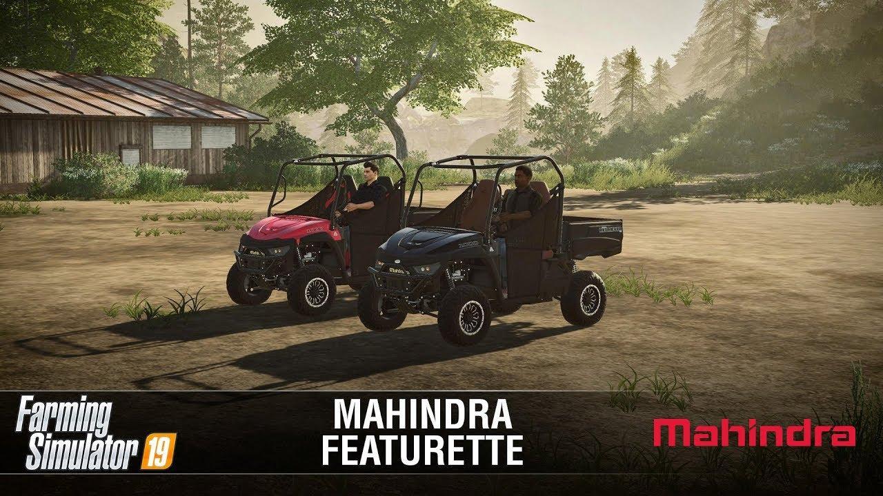 Photo of Farming Simulator 19: Mahindra Retriever Featurette V1.0