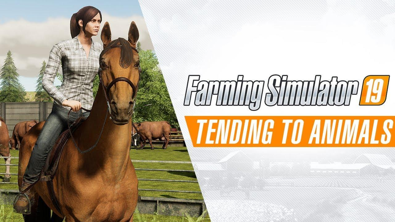 Photo of Farming Simulator 19: Tending To Animals Gameplay Trailer #2
