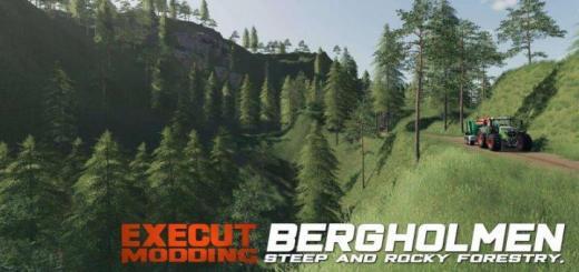 Photo of FS19 – Bergholmen Hardcore Forestry Map V1.3