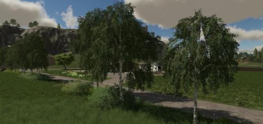 Photo of FS19 – Birch Tree Prefab (Prefab) V1