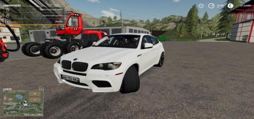 Photo of FS19 – Bmw X6M Skin V1
