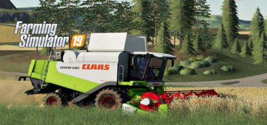 Photo of FS19 – Claas Lexion 530 Harvester V1