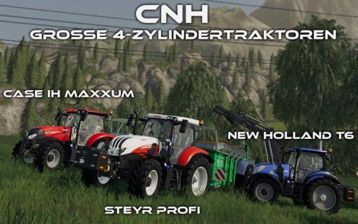 FS19 - Cnh – Grosse 4-Zylindertraktoren V1