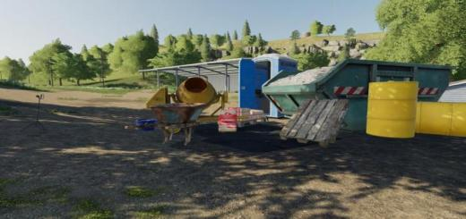 Photo of FS19 – Construction Accessories V1