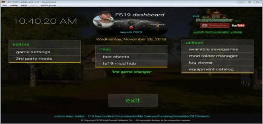 Photo of FS19 – Dashboard V1