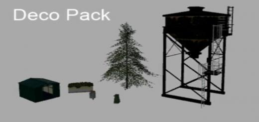 Photo of FS19 – Deco Objects From The Original Map V1