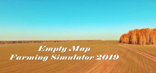 Photo of FS19 – Empty Map (Working) V1