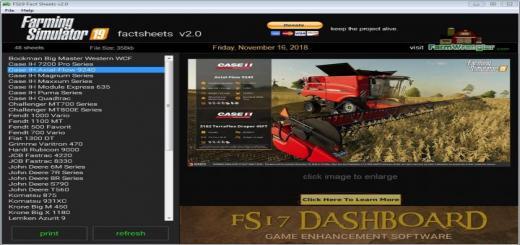 Photo of FS19 – Factsheets Software V2
