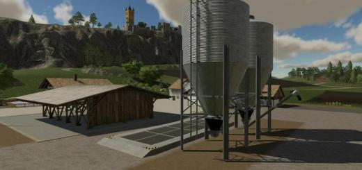 Photo of FS19 – Farm Silo Prefab V1