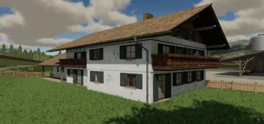 Photo of FS19 – Farmhouse Prefab V1
