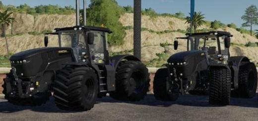 Photo of FS19 – Fastrac 8330 Black Tractor V1.0.0.5