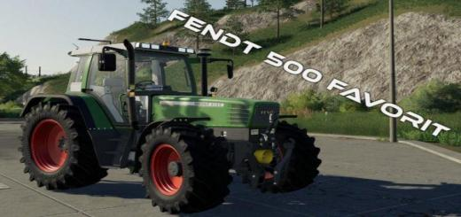 Photo of FS19 – Fendt 500 Favorit V1