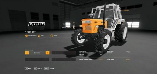 Photo of FS19 – Fiat 1300 Dt Boost Tractor V1