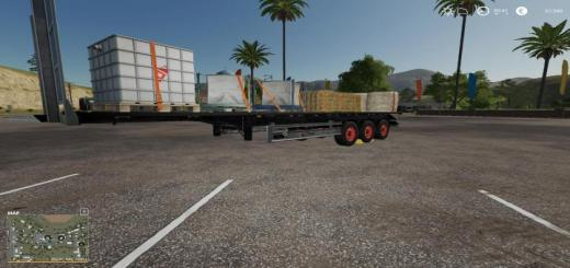 Photo of FS19 – Fliegl Sds 350 Trailer V1