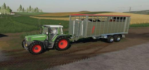 Photo of FS19 – Fliegl Viehtransporter Trailer V1