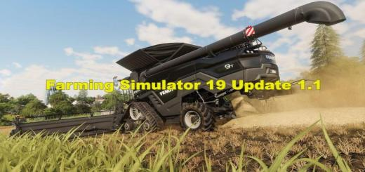 Photo of FS19 – Update (Patch) V1.1