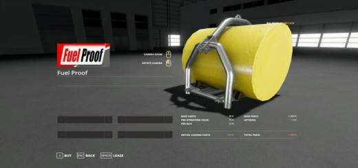 Photo of FS19 – Fuel Proof V1