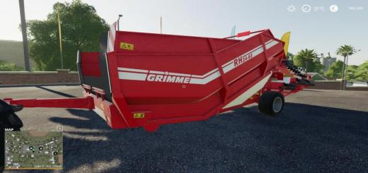 Photo of FS19 – Grimme Rh2460 Edit Silage V1
