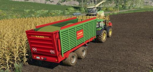 Photo of FS19 – Hawe Silage Trailer Slw 45 V0.99
