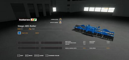 Photo of FS19 – Holaras Stego 485 Roller V1