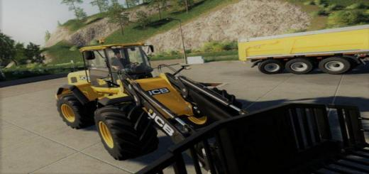 Photo of FS19 – Jcb 435S Big Tires V1