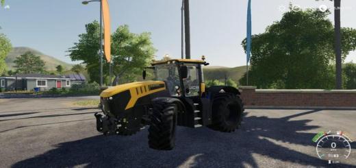 Photo of FS19 – Jcb Fastrac 8330 Tractor
