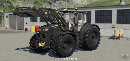 Photo of FS19 – John Deere 6R Black Edition V1.0.0.2