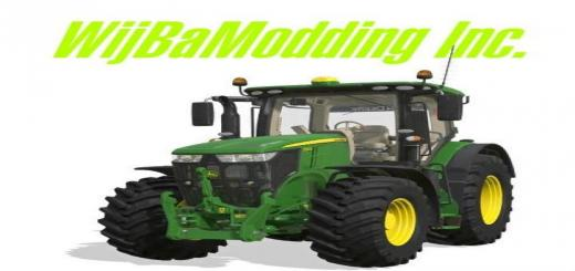 Photo of FS19 – John Deere 7R With Seatcam V1