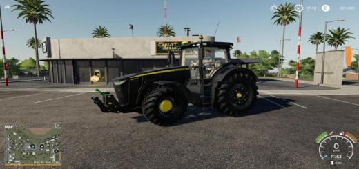 Photo of FS19 – John Deere 8R Black Tractor