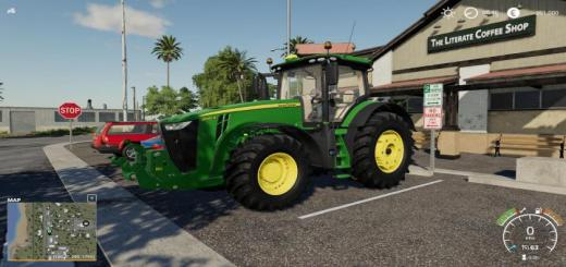 Photo of FS19 – John Deere 8R Chip Engine V1