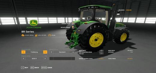 Photo of FS19 – John Deere 8R With Seatcam V1