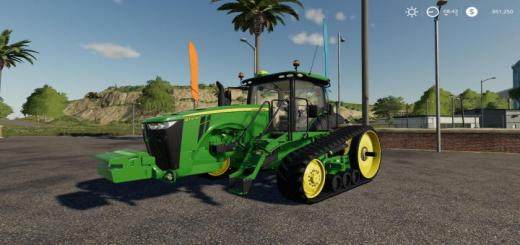 Photo of FS19 – John Deere 8Rt Tractor V1
