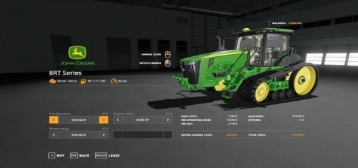 Photo of FS19 – John Deere 8Rt With Seatcam V1