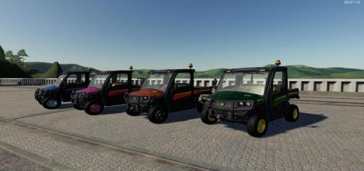 Photo of FS19 – John Deere Gator Xuv865 M Metallic V1