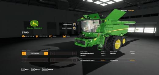 Photo of FS19 – John Deere S790 With Seatcam V1