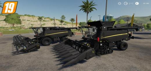 Photo of FS19 – John Deere T560 *black Edition* Set V1