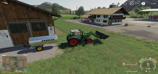 Photo of FS19 – Joskin Aqua Trans 7300 + Milk V1
