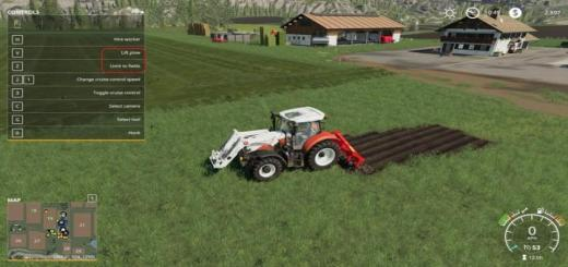 Photo of FS19 – Kuhn Dc401 With Plow Function V1