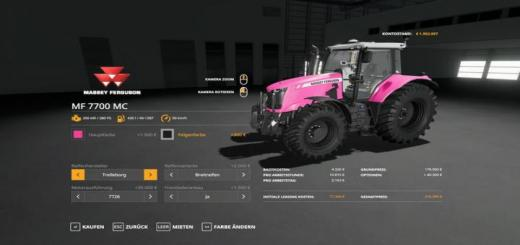 Photo of FS19 – Massey Furgusun Mf7700 – Multicolor V1