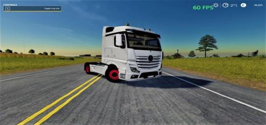 Photo of FS19 – Mercedes Actros Mp4 V1