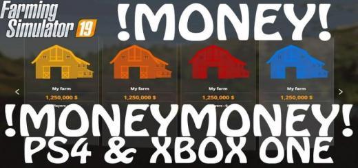 Photo of FS19 – Money Cheat On Ps4 & Xbox One V1