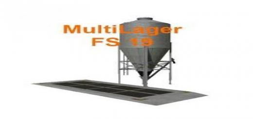 Photo of FS19 –  Multi Lager Maurice V1.1