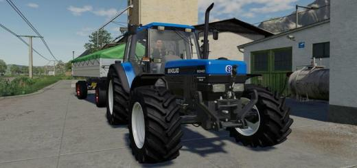 Photo of FS19 – New Holland 8340 Tractor V1