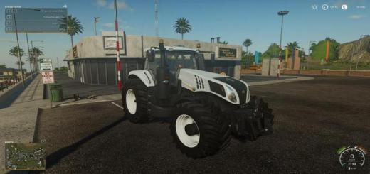 Photo of FS19 – New Holland T8 Tractor V1