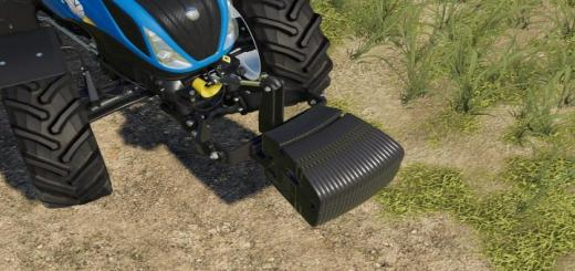Photo of FS19 – New Holland Weight V1.0