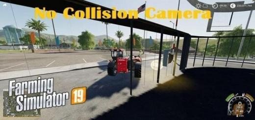 Photo of FS19 – No Collision Camera V1