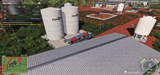 Photo of FS19 – Placeable Cargill Liquid Fert Refill Tanks V1