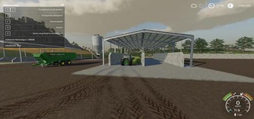 Photo of FS19 – Placeable Double Silage Silo V1