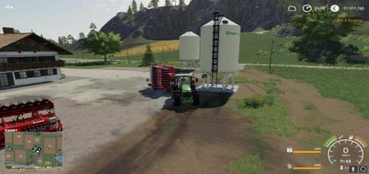 Photo of FS19 – Placeable Dungersilo V1